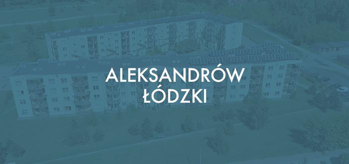 Mieszkanie 50 m2 – Aleksandrów Łódzki